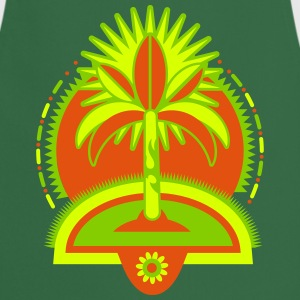 A palm tree on an island   Aprons - Cooking Apron