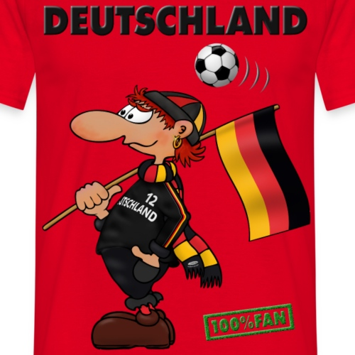 Fan Deutschland Black