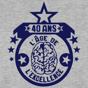 40 ans age excellence cerveau anniversai Sweat-shirts - Sweat-shirt Homme