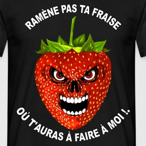 humour fruit rouge 02 Tee shirts - T-shirt Homme