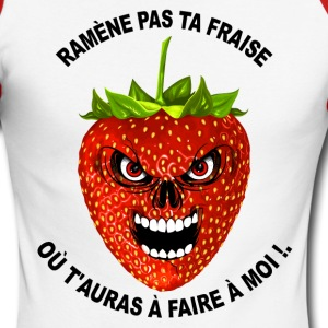 humour fruit rouge 01 Manches longues - T-shirt baseball manches longues Homme