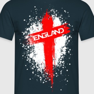 England Painted-Red T-Shirts - Men's T-Shirt