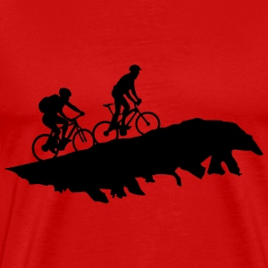 Cycling, mountain biking - Men's Premium T-Shirt