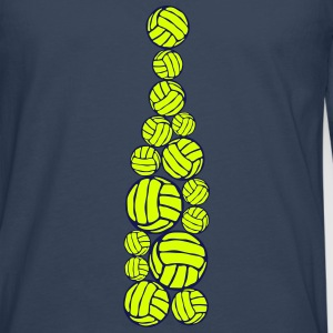 ballon volleyball forme bouteille 404 Manches longues - T-shirt manches longues Premium Homme