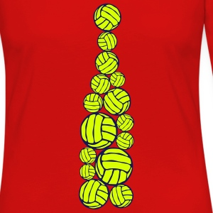 ballon volleyball forme bouteille 404 Manches longues - T-shirt manches longues Premium Femme