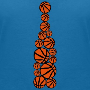 ballon basketball forme bouteille 404 Tee shirts - T-shirt col V Femme