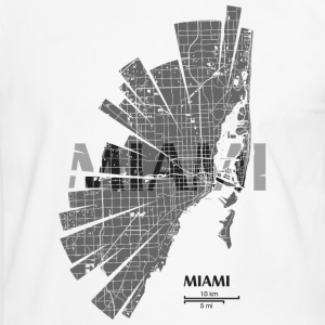 Miami Tee shirts - T-shirt contraste Homme