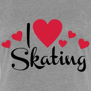 skating T-Shirts - Frauen Premium T-Shirt