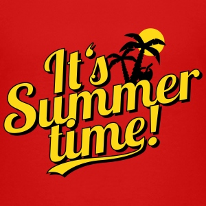 It's Summer Time - beach & holiday Shirts - Teenage Premium T-Shirt