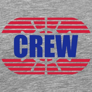 Wheel crew rank badge T-Shirts - Men's Premium T-Shirt