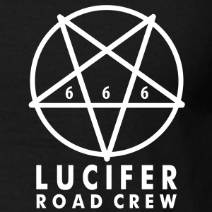 T Shirt - LUCIFER ROAD CREW 666 - Männer T-Shirt