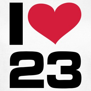 I Love 23, cairaart.com T-Shirts - Frauen T-Shirt