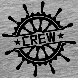 Crew steering wheel stamp logo T-Shirts - Men's Premium T-Shirt