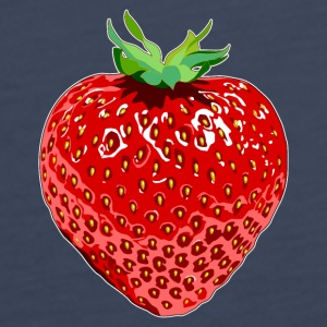 Marine Erdbeere Strawberry Topper - Premium singlet for kvinner