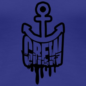 Graffiti Crew Anchor Stamp T-Shirts - Women's Premium T-Shirt
