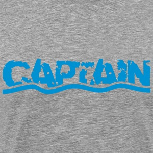 Captain waves water logo T-Shirts - Men's Premium T-Shirt