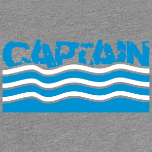Captain water waves logo T-Shirts - Women's Premium T-Shirt