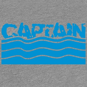 Captain Wasser Wellen Logo T-Shirts - Frauen Premium T-Shirt