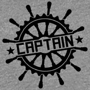 Captain steering wheel stamp logo T-Shirts - Women's Premium T-Shirt