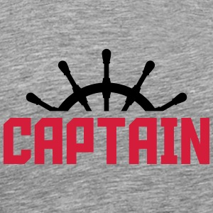 Capitaine volant design Tee shirts - T-shirt Premium Homme