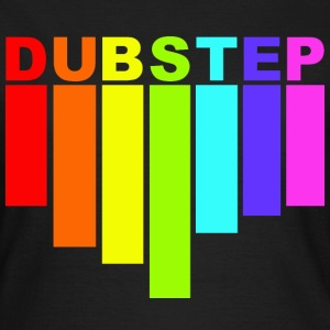 dubstep rainbow T-skjorter - T-skjorte for kvinner