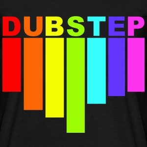 dubstep rainbow T-shirts - Mannen T-shirt
