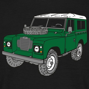 Land Rover Landie 4x4 Off-Road Series 3 88 Tee shirts - T-shirt Homme