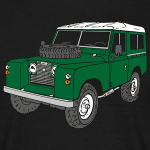 Landy Land Rover Defender Series Jeep Tee shirts - T-shirt Homme