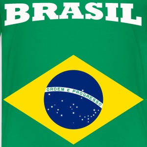 Brasil Shirts - Teenage Premium T-Shirt