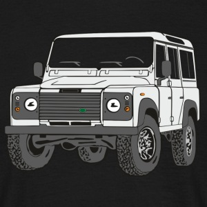 4x4 Defender 110 Adventure Tee shirts - T-shirt Homme