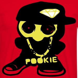 hip hop toy wears pookie chain T-shirts - Mannen T-shirt