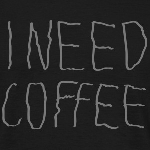 I Need Coffee T-shirts - Herre-T-shirt