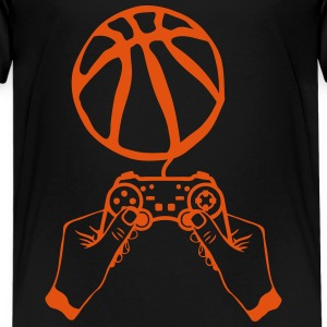 basketball manette jeux main paddle Tee shirts - T-shirt Premium Ado