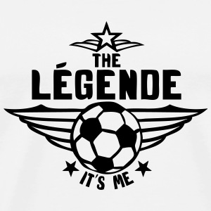football legende its me est moi logo Tee shirts - T-shirt Premium Homme