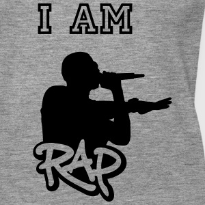 I am rap - Frauen Premium Tank Top