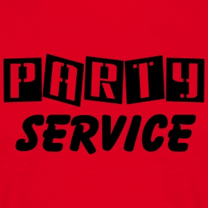 Party Service T-Shirts - Männer T-Shirt