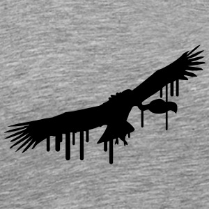 Vulture graffiti stamp T-Shirts - Men's Premium T-Shirt