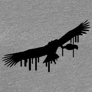 Vulture graffiti stamp T-Shirts - Women's Premium T-Shirt