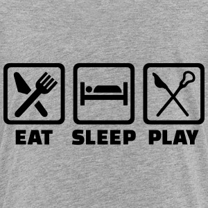 Eat sleep Lacrosse T-Shirts - Kinder Premium T-Shirt