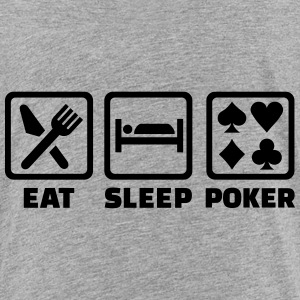 Eat sleep Poker T-Shirts - Kinder Premium T-Shirt