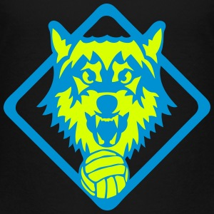 volleyball logo sport loup equipe 31 Tee shirts - T-shirt Premium Enfant