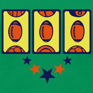 Football-Spielautomat Casino T-Shirts - Frauen Premium T-Shirt