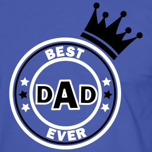best dad ever T-shirts - Mannen contrastshirt