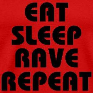 Eat, sleep, rave, repeat T-Shirts - Men's Premium T-Shirt