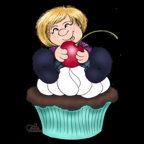 Cherry Cupcake
