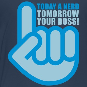 Today a nerd - tomorrow your boss Shirts - Kids' Premium T-Shirt