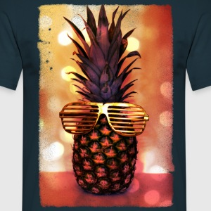 grill glass pineapple - grill brille ananas T-Shirts - Männer T-Shirt