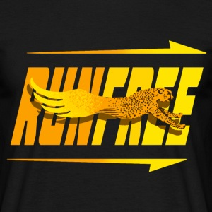 Run Free T-Shirts - Men's T-Shirt
