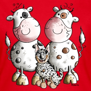 Australian Cattle Dog And Cows T-Shirts - Women's T-Shirt