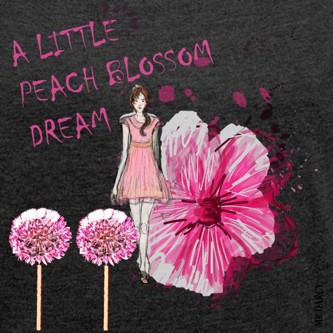 A LITTLE PEACH BLOSSOM DREAM Damen boyfriend